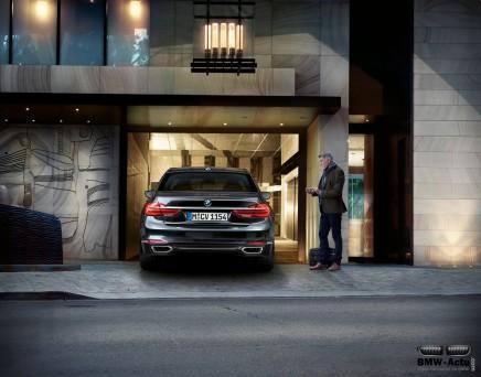 Zoom sur les technologies BMW : le stationnement autonome de la Série7