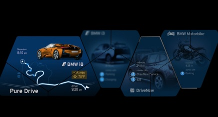 BMW dévoile les premières images du Concept i8Spyder