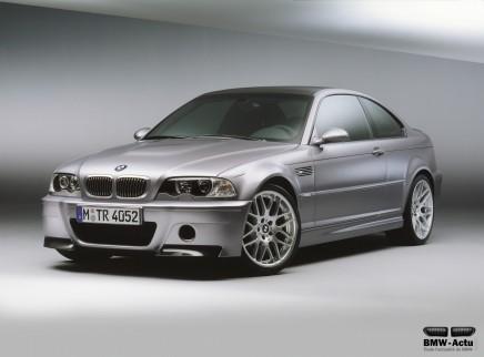 Coup d'œil dans le rétro : BMW M3CSL
