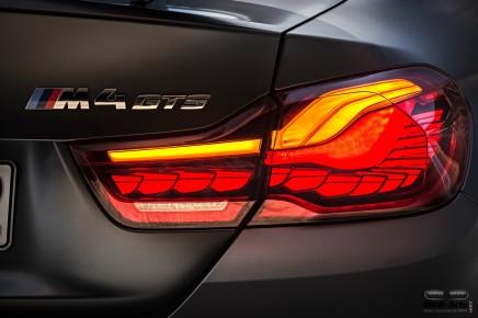 Zoom sur les technologies BMW : les feux OLED de la M4GTS
