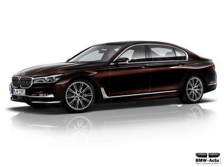 La BMW Série 7 s'invite parmi les sept finalistes de la voiture de l'année2016