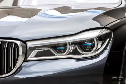 Zoom sur les technologies BMW : l'éclairage LaserLight