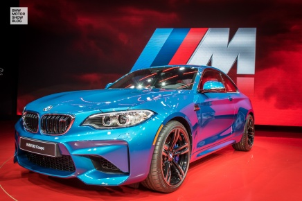 La BMW M2 s'expose au Salon de Détroit