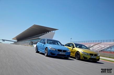 BMW confirme un Pack Compétition pour les M3 etM4