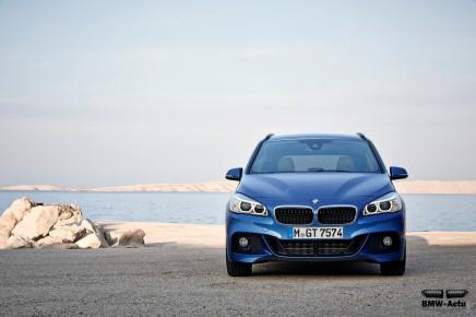 La transmission intégrale xDrive se développe sur la BMW Série 2 GranTourer