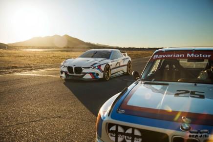 Le Concept BMW 3.0 CSL Hommage R va s'exposer à Paris du 27 au 31janvier
