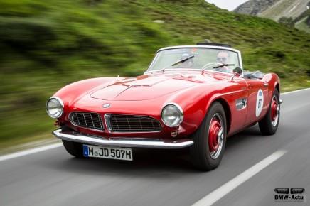 Coup d'œil dans le rétro : BMW507