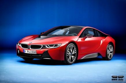 BMW lance la série spéciale Protonic Red Edition pour lai8