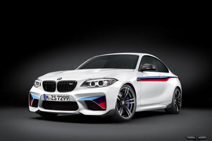 La BMW M2 s'encanaille avec la ligne d'accessoires MPerformance