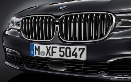 Zoom sur les technologies BMW : la calandre active de la nouvelle Série7