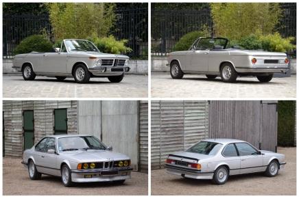 Une BMW M635 CSi et une très rare 2002 Cabriolet en vente àRétromobile