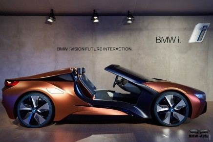 BMW confirme officiellement l'arrivée de la i8 Roadster en2018