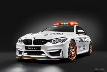 La BMW M4 GTS devient la Safety Car de la saison 2016 deDTM