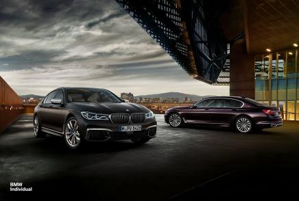 La BMW M760Li xDrive s'habille de compositionsIndividual