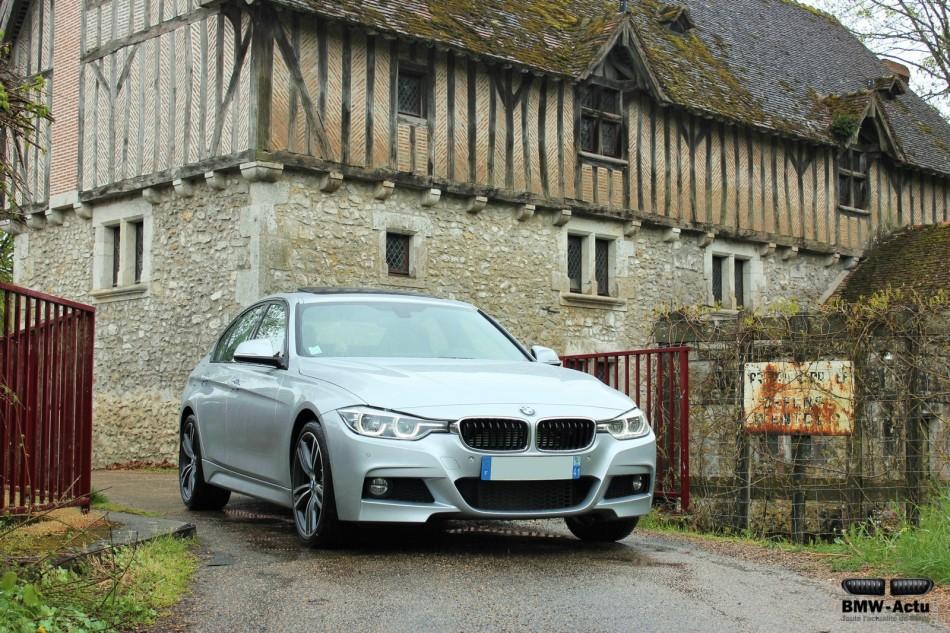 A l'essai : la BMW 330e hybriderechargeable